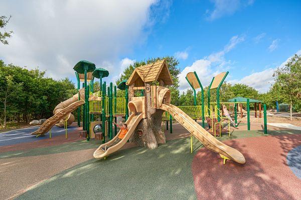 Project Highlight: Nature Playgrounds
